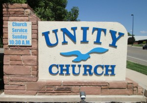 Unity Church Sign